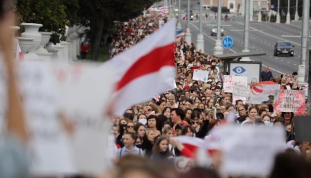 У Мінську - чергова Жіноча хода протесту