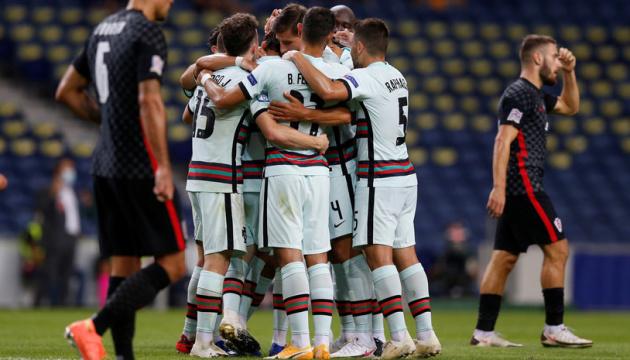 Португалія розгромила Хорватію в матчі Ліги націй УЄФА