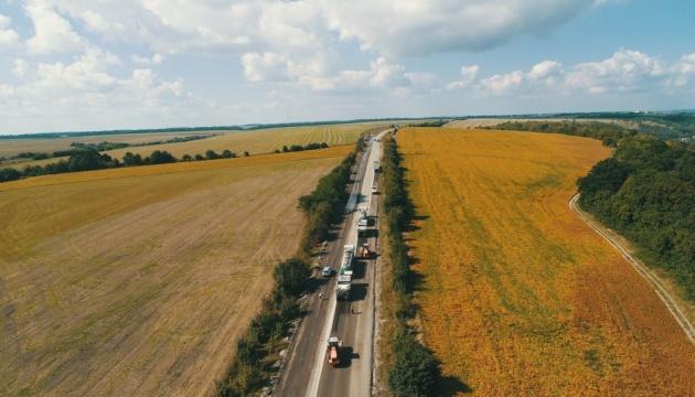 Глава Укравтодора проверил ремонт трассы на Тернопольщине
