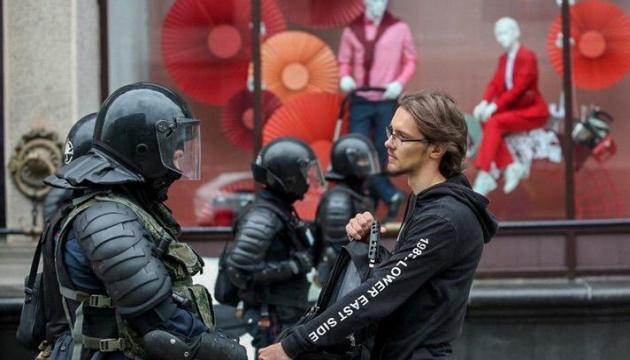 В Минске — массовые задержания