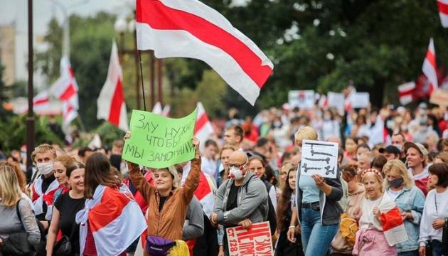 Протесты в Беларуси: в воскресенье силовики задержали более 600 человек