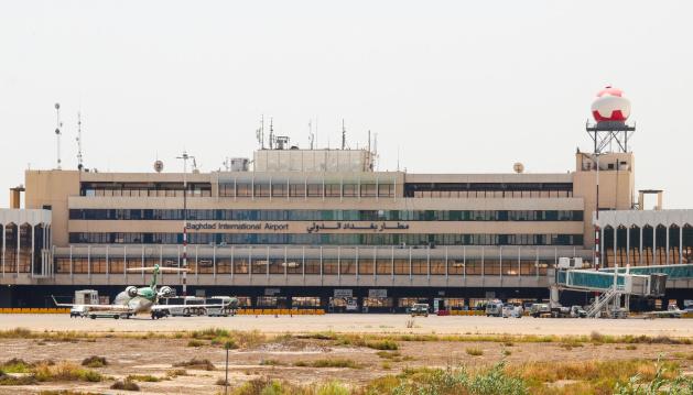 На территорию аэропорта Багдада упали три ракеты