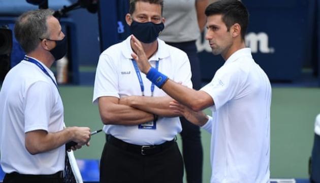 Джоковича со скандалом сняли с US Open
