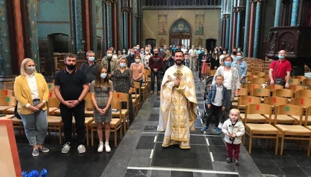 Українці в Бельгії відновили традицію емігрантської прощі