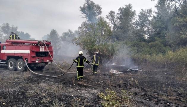 На Луганщині ліквідували лісову пожежу біля трьох населених пунктів