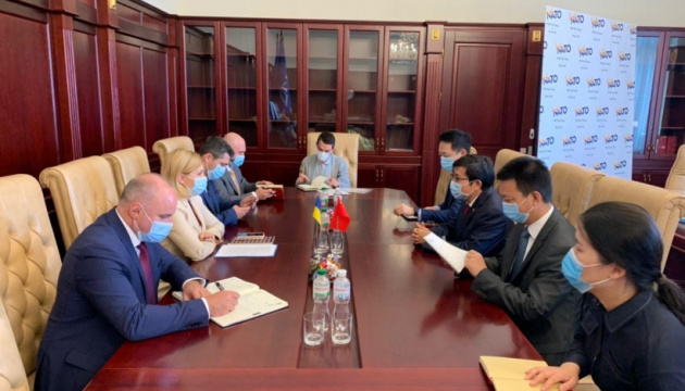 Ukraine, China discuss ways of further economic cooperation – Deputy PM Stefanishyna