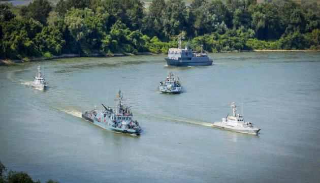 ВМС України та Румунії розпочали спільні навчання в акваторії Дунаю