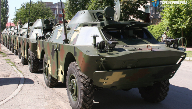 About 50 armored vehicles modernized for Ukrainian army according to NATO standards