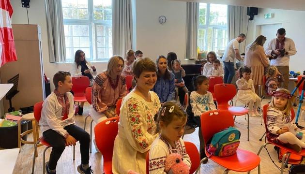 Українські школи в Данії розпочали новий навчальний рік
