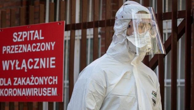 У Польщі за добу померли найбільше інфікованих від початку пандемії