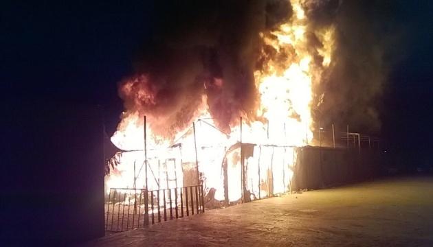 Пожежа знищила найбільший у Греції табір мігрантів