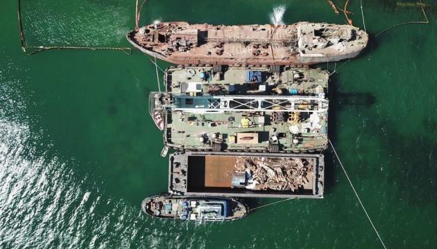Криклий показав спецоперацию с танкером Delfi
