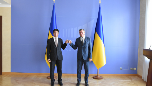 Urusky, Turkey's ambassador discuss development of Ukrainian-Turkish relations