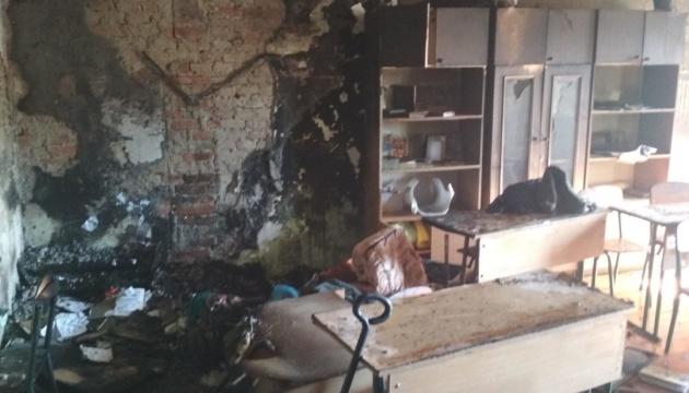 На Львівщині горів інтернат, учнів та персонал евакуювали