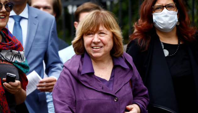 Алексієвич закликала ООН створити механізм розслідування ситуації у Білорусі