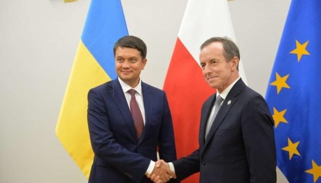 Rasumkow: Nord Stream 2 stellt eine echte Bedrohung für Stabilität in Europa dar