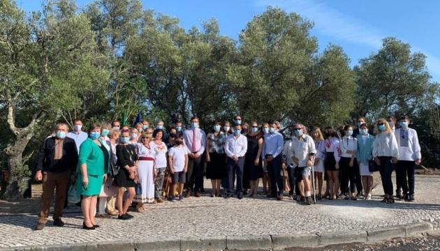 Кулеба взяв участь у відзначенні першої річниці відкриття пам'ятника Шевченку в Лісабоні