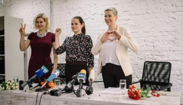 Тихановскую, Колесникову и Цепкало номинировали на премию Сахарова