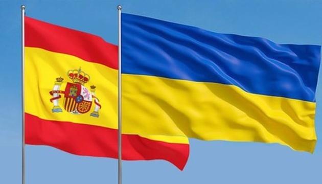 Ucrania y España firman varios documentos importantes