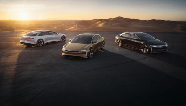 Больше 800 километров без подзарядки: представлен конкурент Tesla S