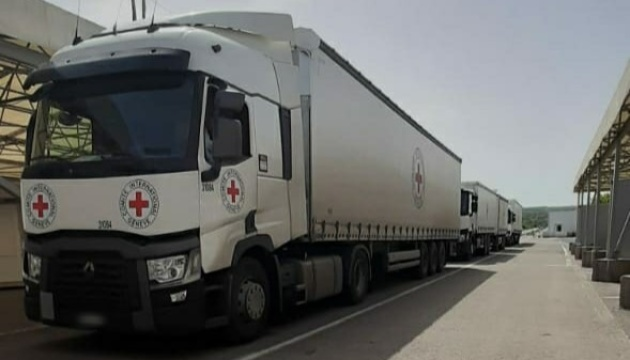 Residents of occupied Donbas receive about 200 tonnes of aid from international organizations