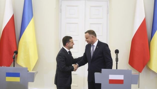 Zelensky, Duda discuss situation in Donbas