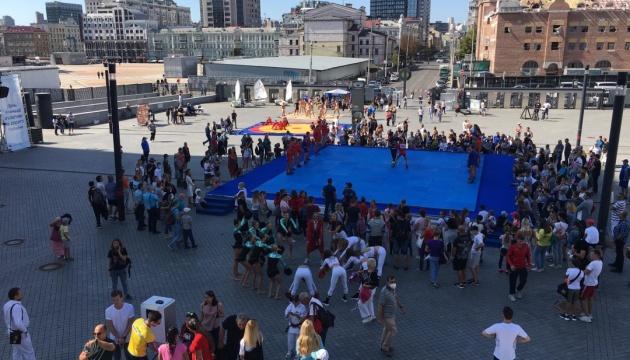 В Киеве празднуют День физической культуры и спорта Украины