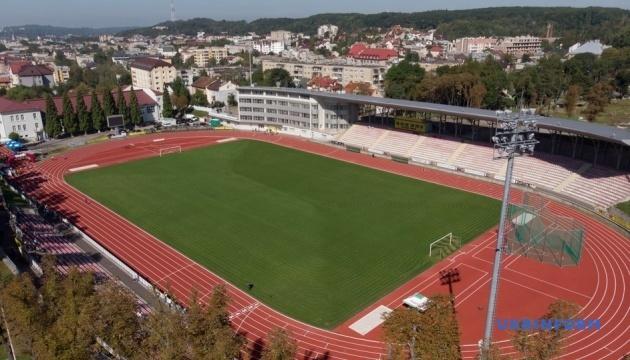 Відбулися перші змагання на оновленому стадіоні