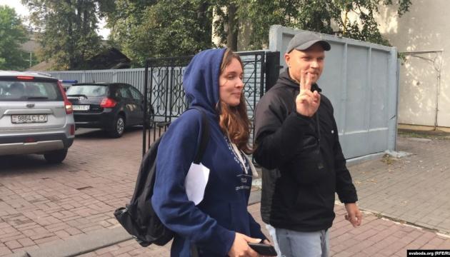 У Мінську у прямому етері затримали журналістку й оператора Белсату