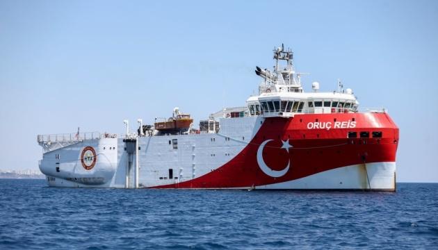 Турецкое судно сейсмической разведки покинуло спорную зону в Средиземном море