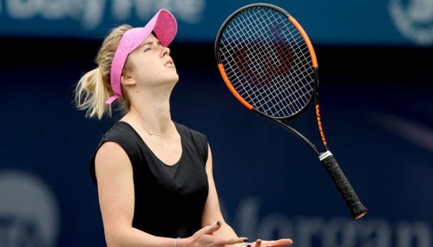 Світоліна опустилася на шосте місце в рейтингу WTA