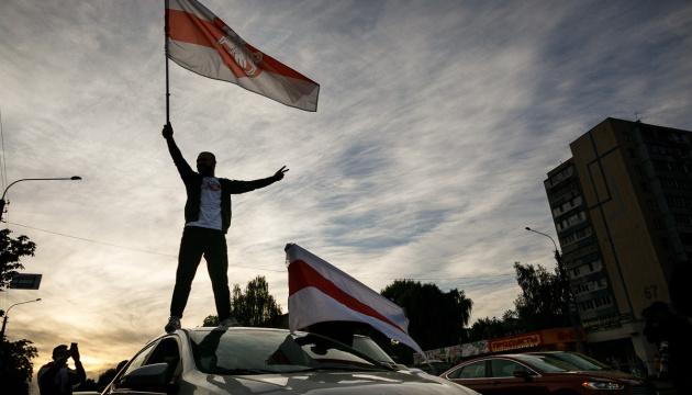 В Минске вечером началась протестная акция «Ответный удар»