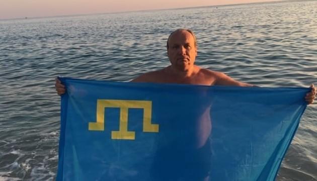 Софяник совершил заплыв через Средиземное море, посвятив его деоккупации Крыма
