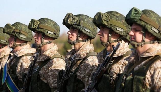 """Soldaten aus Belarus nehmen an russischem Militärmanöver """"Kaukasus 2020"""" nahe Grenze zu Ukraine teil"""