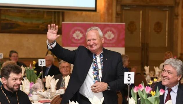 Голова відділу Конґресу українців Канади в Торонто Тарас Багрій відзначив 65-річчя