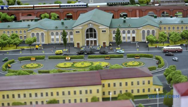 Винницкий музей пополнился миниатюрным макетом города