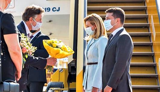 President Zelensky arrives in Austria on official visit