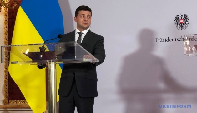 Zelensky says it's too early to talk about Ukrainian-Russian 'relations'