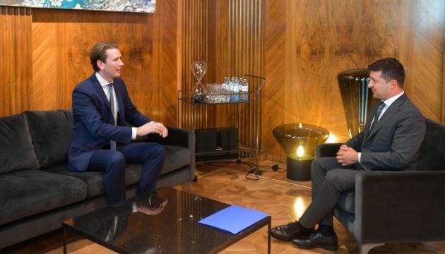 Зеленський і Курц говорили про найменування площі у Відні на честь України