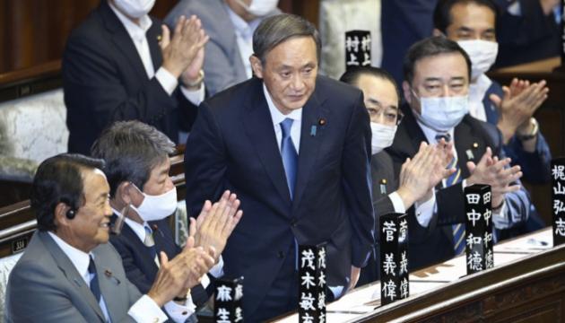 Йошіхіде Суґа офіційно став новим прем'єром Японії