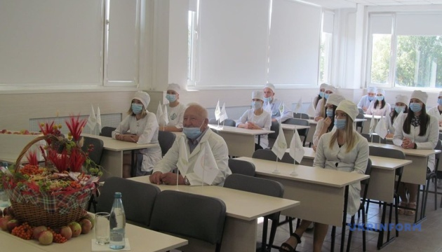 У Національному фармуніверситеті відкрили сучасну аудиторію