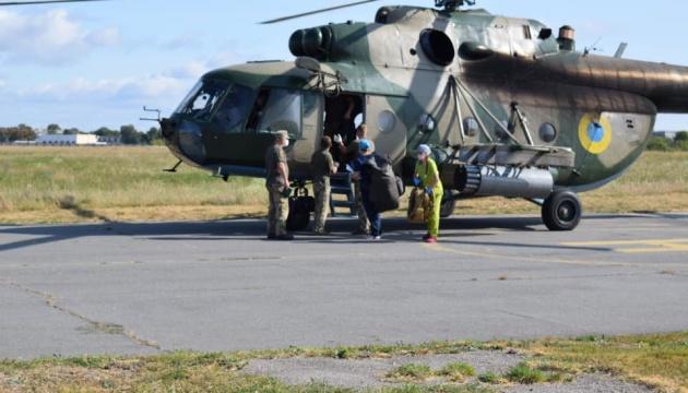 Поранених під Шумами військових доправили у реанімацію харківського шпиталю