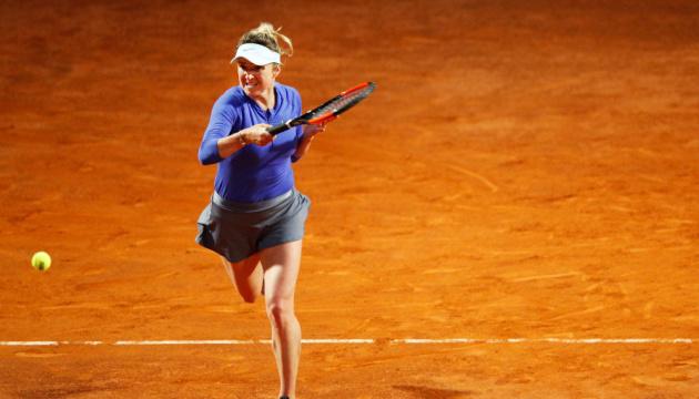 Tennis: Svitolina besiegt Russin Pavlyuchenkova in zweiter Runde des WTA-Turniers in Rom