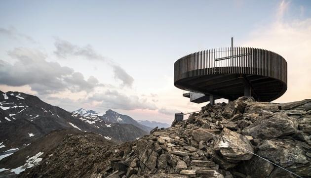 В Альпах открыли смотровую площадку на леднике