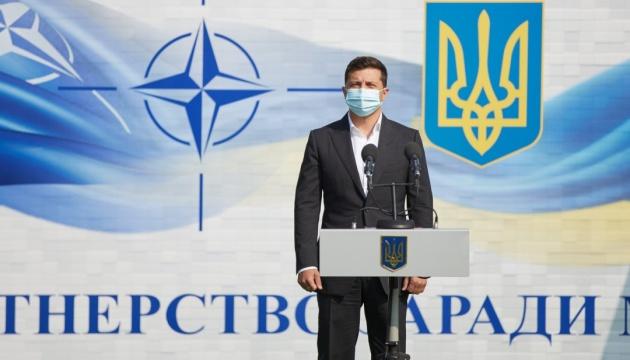 Президент: Навчання Rapid Trident - важливий крок до євроінтеграції України