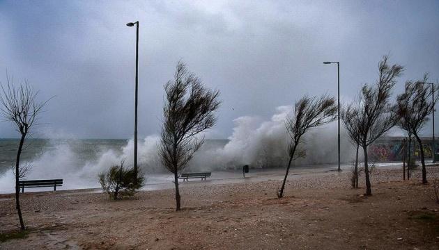В Греции объявили чрезвычайную ситуацию из-за циклона