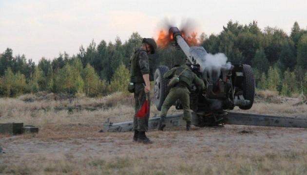 Навчання під Брестом: військові Білорусі та РФ провели артилерійські стрільби