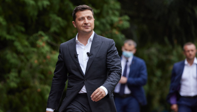 Zelensky arrives in Zakarpattia region