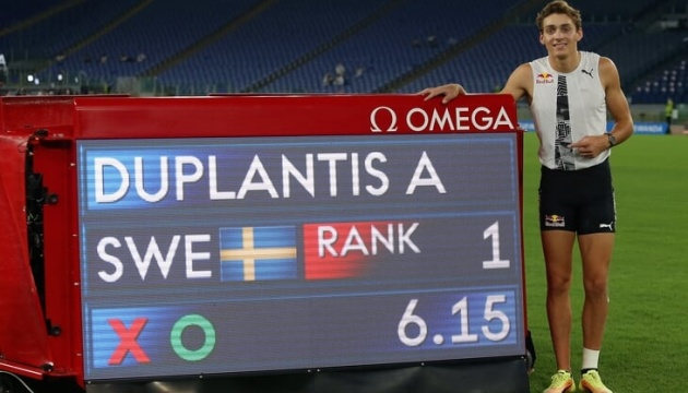 Бубка поздравил Дюплантиса, который побил его рекорд