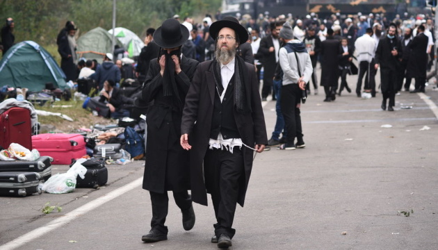 Les pèlerins juifs commencent à quitter la frontière biélorusse-ukrainienne